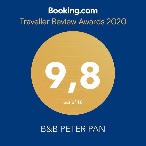 B&B Peter Pan Traveller Review Awards 2020